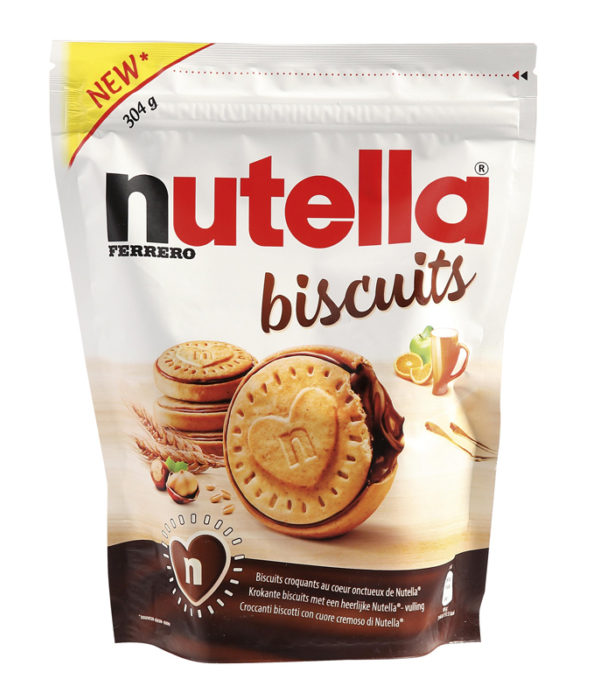 Biscuit au Nutella